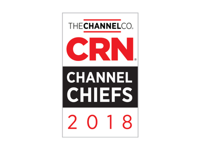 2018 年 CRN Partner Program Guide 受賞