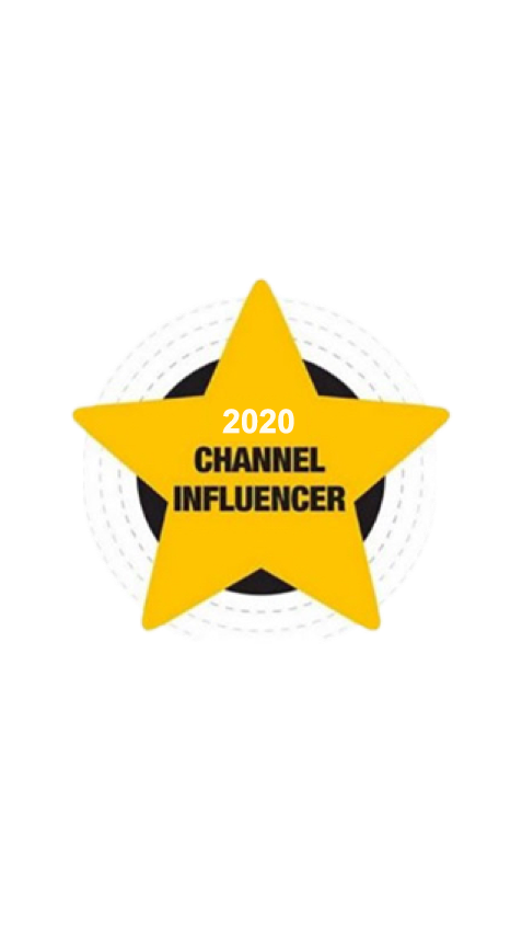 Channel Influencer Award from Channel Partners