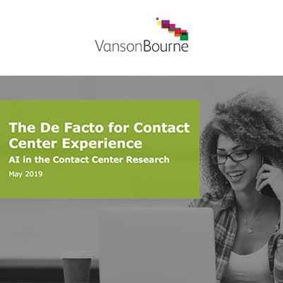 Vanson Bourne on Making AI Work Better in the Contact Center