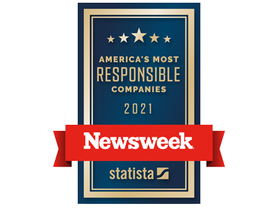 Newsweek - Americas Most responsible companies 2021