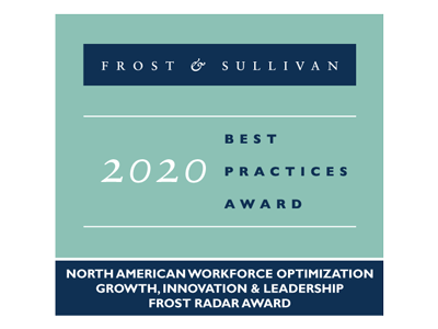 Frost & Sullivan Best Practices Awards 2020