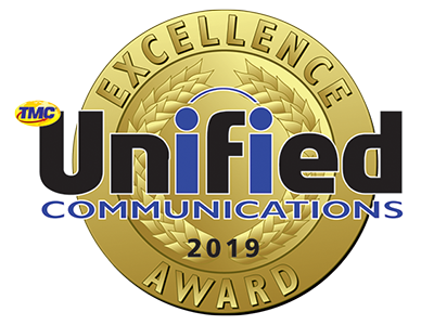 INTERNET TELEPHONY Magazine 2019 Unified Communications Excellence Award