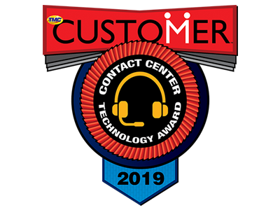 CUSTOMER Magazine 2019 Contact Center Technology Award