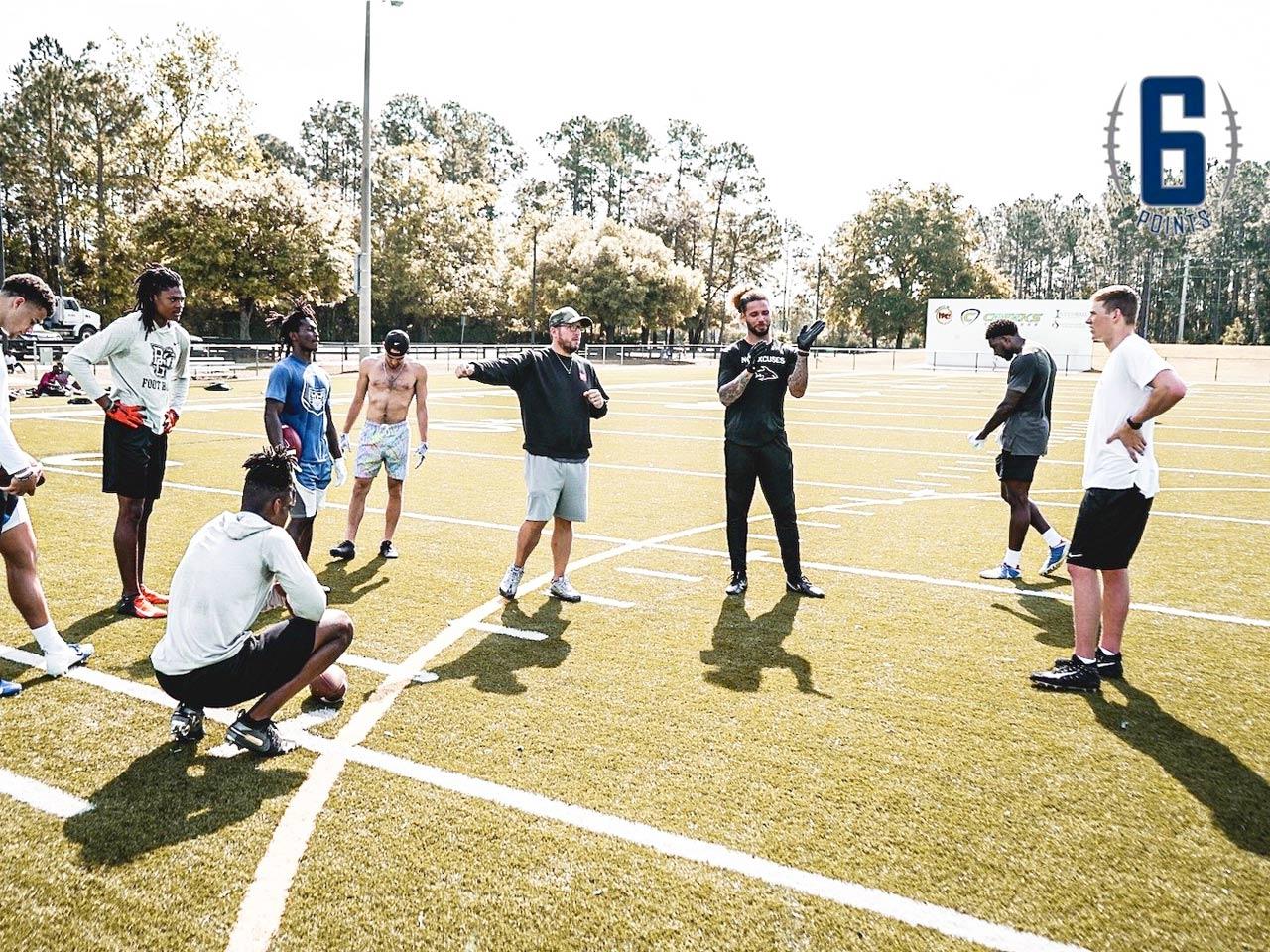 Quarterbacks and coaches