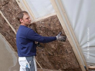 Bei Knauf Insulation werden Kosten und Aufwand eingedämmt