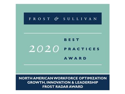 Frost & Sullivan Best Practices Awards 2020