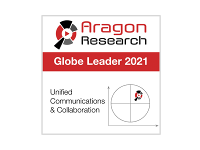Aragon Research Globe for Unified Communications and Collaboration, 2021