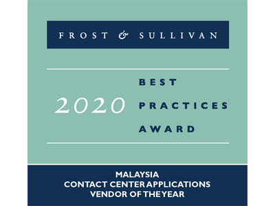 Frost and Sullivan Best Practices Awards 2020 - CC Apps - Malaysia
