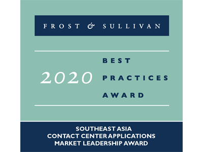 Frost and Sullivan Best Practices Awards 2020 - CC Apps - SEA