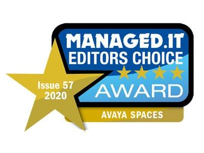 Managed.IT Editor's Choice Award