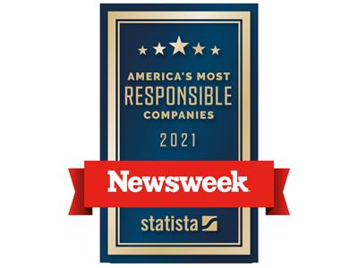 Newsweek: America's Most Responsible Companies 2021