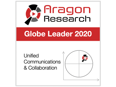 Aragon Research Globe for Unified Communications and Collaboration, 2020
